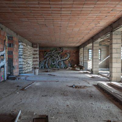 Concrete graffiti